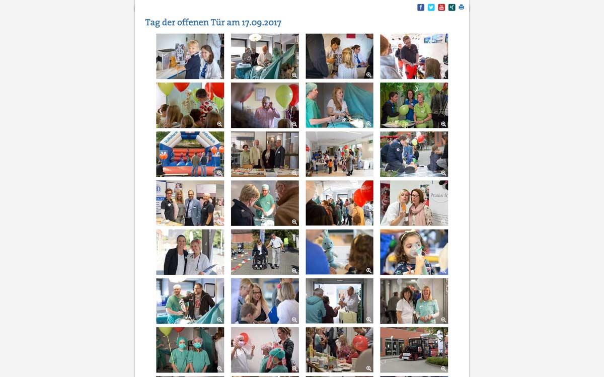 Krankenhaus Greven Tag der offenen Tür - Fotograf Münster