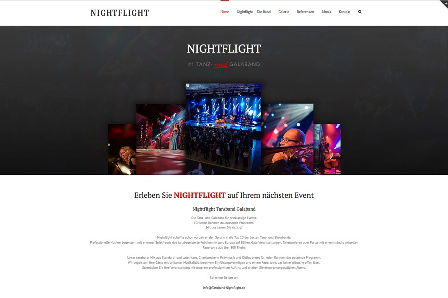 Galaband Nightflight aus NRW
