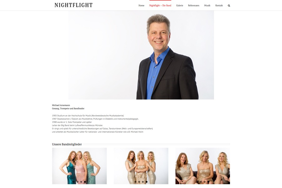 Die Tanzband Nightflight