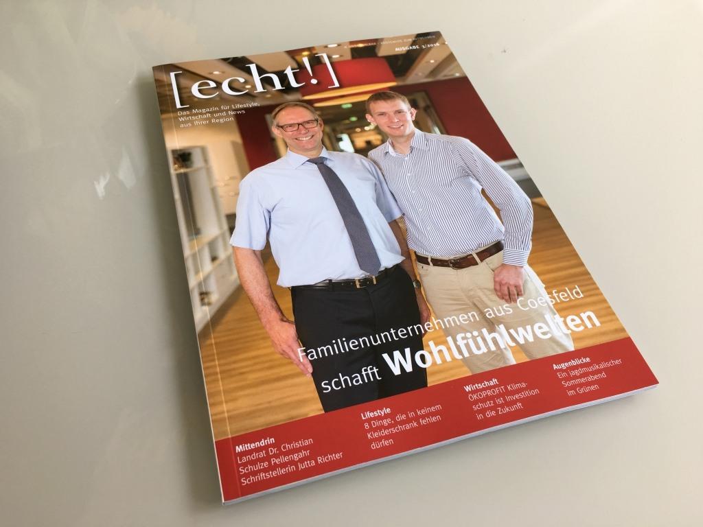 Echt Magazin Coesfeld Titelstory