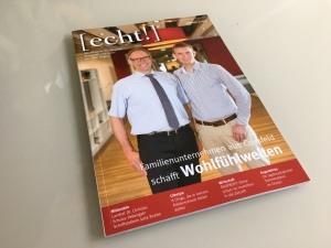 Titelstory im Lifestyle Magazin