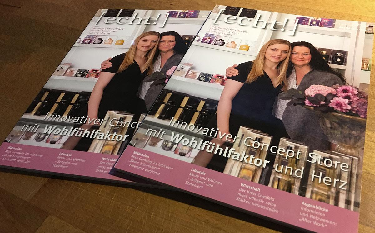 Lifestyle Magazin Echt Coesfeld