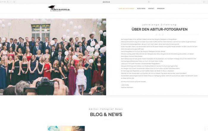 Der Abitur Fotograf Münster mit neuer Webseite