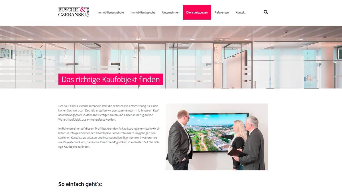 Fotograf für Webseiten