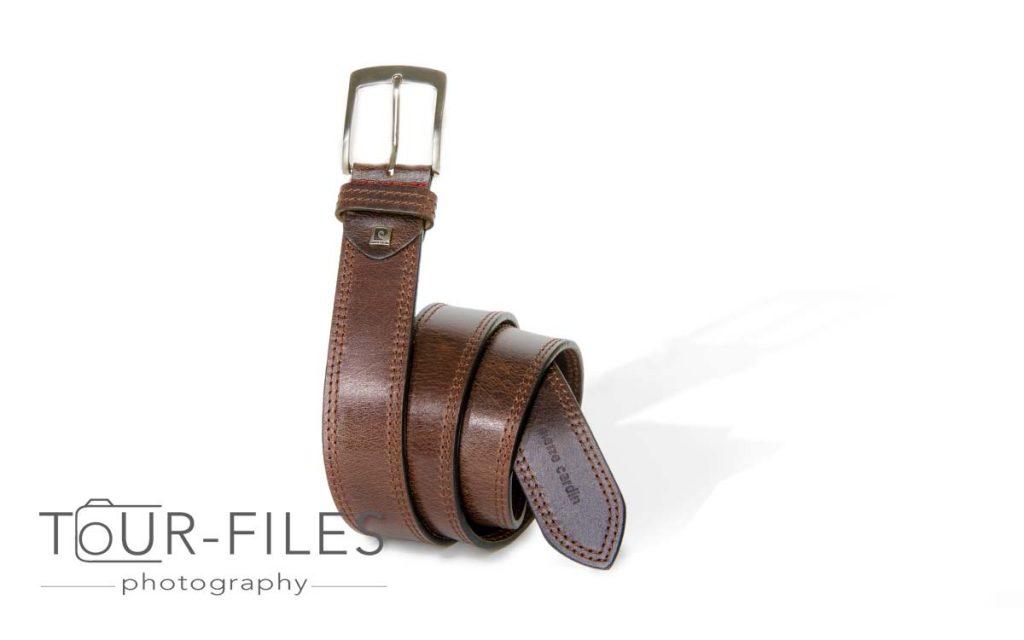 Produktfotografie Gürtel