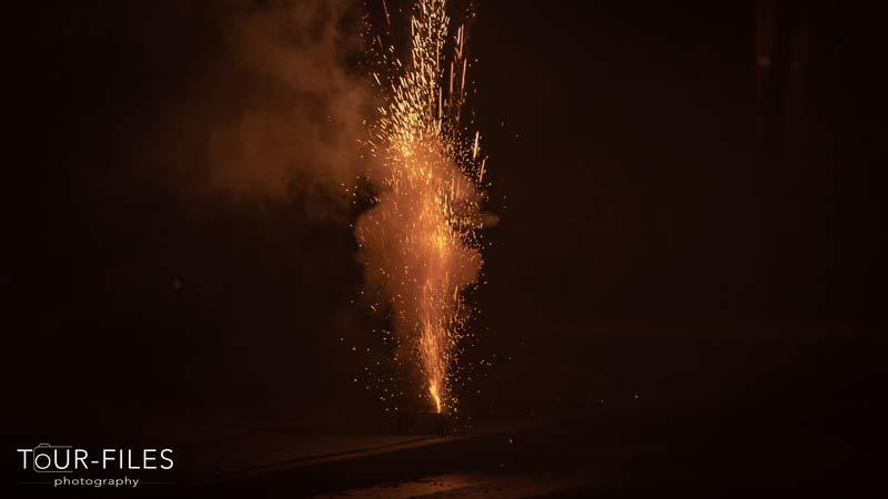 Feuerwerk Funken
