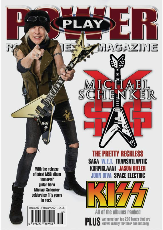 MIchel Schenker Cover