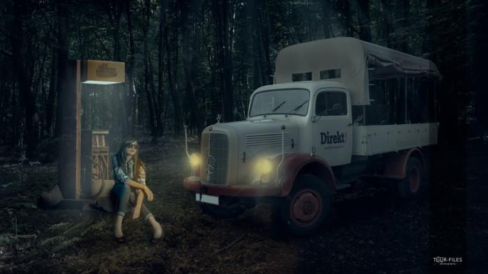 Composing-Fotomontage-deutschland-lkw-spedition-transport-wald-MA4_9995-1
